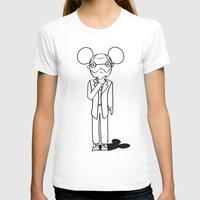 freud T-shirts featuring Freud x Mickey by RespectExistence