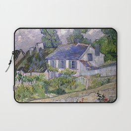 Houses at Auvers by Vincent van Gogh, 1890 Laptop Sleeve