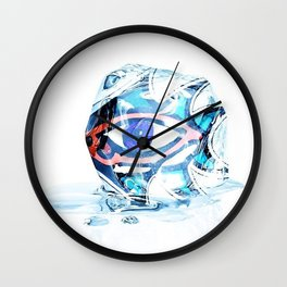 Some Eye In Your Ice Wall Clock