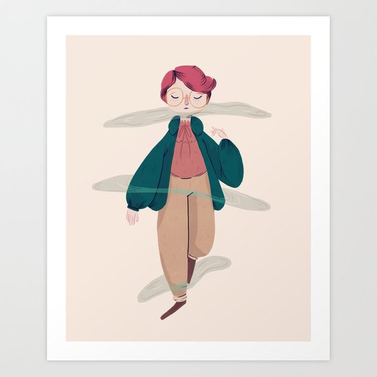 What About Barb? Art Print