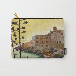 Vintage Italian travel Santa Cesarea Terme Lecce Carry-All Pouch
