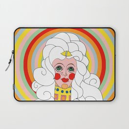 Theodora in Technicolor Laptop Sleeve