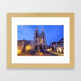 Burgos cathedral, Spain. Framed Art Print