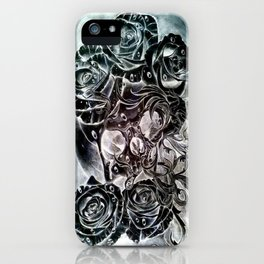modern decay (invert) iPhone Case