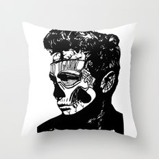 James Dean. Rebel: Zombie. Throw Pillow