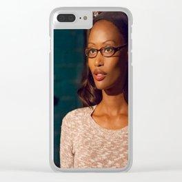 LumberJacks Wife Clear iPhone Case