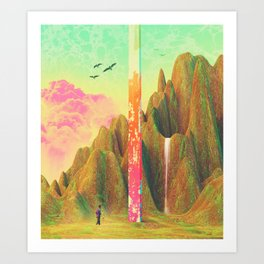 Simile Paradise Art Print