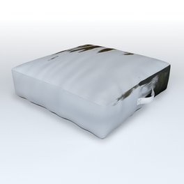 Dark and Clear Water Outdoor Floor Cushion