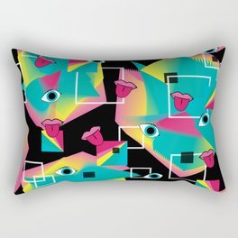 Rainbow Pop Rectangular Pillow