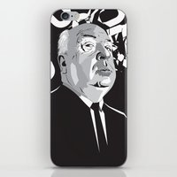 hitchcock iPhone & iPod Skins featuring Hitchcock by Matt Fontaine