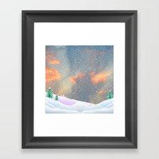 My Snowland | Christmas Spirit Framed Art Print