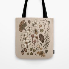 Nature Walks (Light Background) Tote Bag