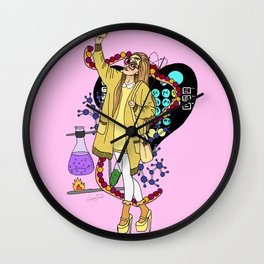Honey Lemon Big hero six Wall Clock
