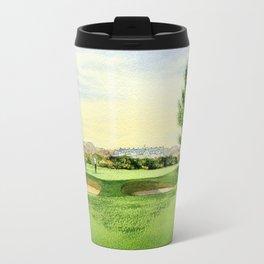 Carnoustie Golf Course Scotland 13th Green Travel Mug