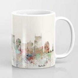 nashville city skyline Coffee Mug