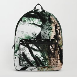 Network of Green Backpack