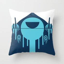 Alternative Face Throw Pillow