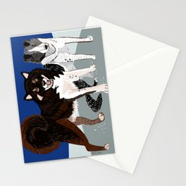 Karafuto Ken - Sakhalin husky Stationery Cards