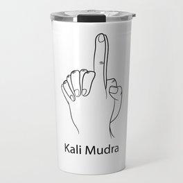 Kali Mudra Yoga Gift Travel Mug