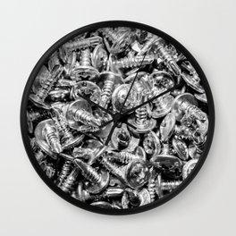 screws Wall Clock