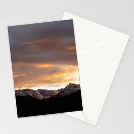 Sunset on Trail Ridge 3 Stationery Cards