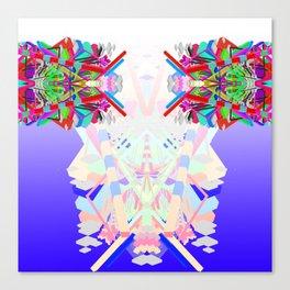 Purple Uranium Totem Canvas Print