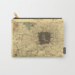 Map of Beijing, China (1926) Carry-All Pouch