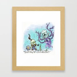 Dungeons & Doodles - Mini Encounters Framed Art Print