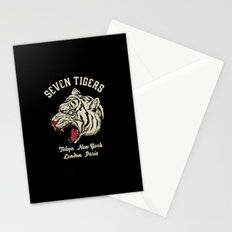 Seven Tigers Stationery Cards