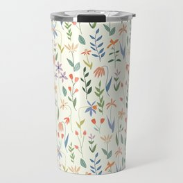 Wildflowers in the Air Light Travel Mug