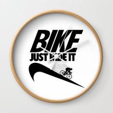 Just Ride It Wall Clock