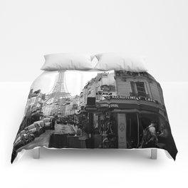 Paris Street Comforters