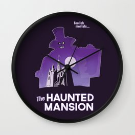 Hatbox Ghost - World Wall Clock
