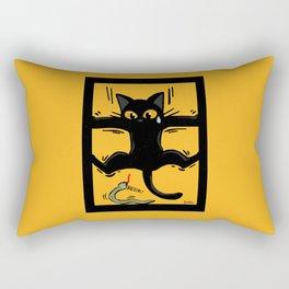 A little scary Rectangular Pillow