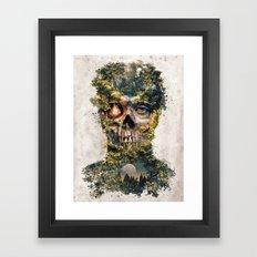 The Gatekeeper Surreal Dark Fantasy Framed Art Print