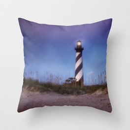 Cape Hatteras Light Throw Pillow