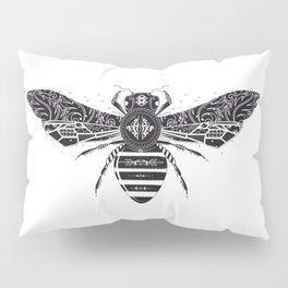 ornate bee Pillow Sham