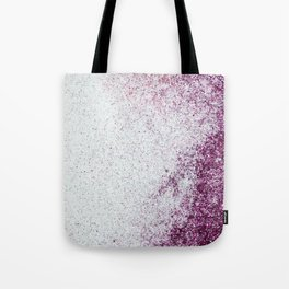 Purple Glitter Tote Bag