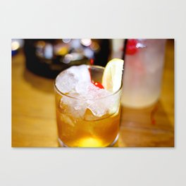 Cherry Glass. Canvas Print