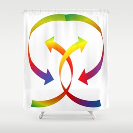 Rainbarrow Shower Curtain