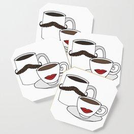 The Caffeinated Couple Coaster