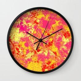 Rush apart Wall Clock