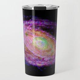 Glitch Galaxy Travel Mug