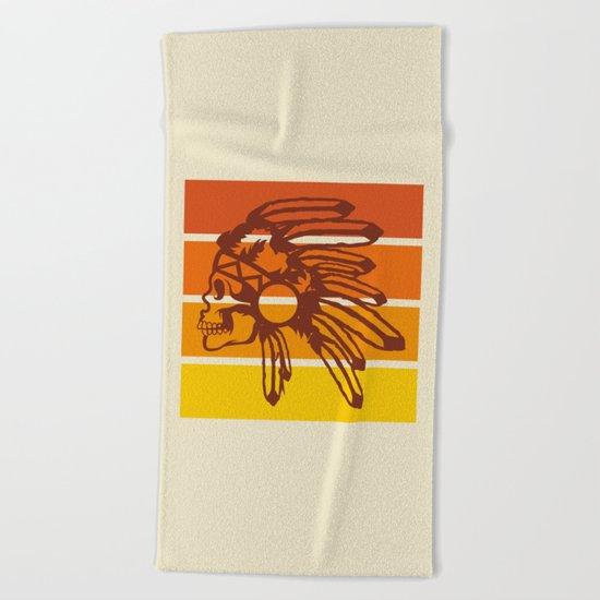 Nod to the 70's Beach Towel