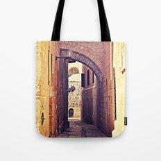 Jerusalem Alley Tote Bag