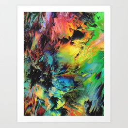 Peace In Chaos Art Print