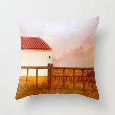 Land of soul Throw Pillow
