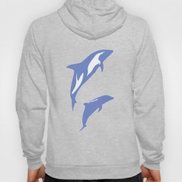 A Pair of Dolphins Hoody