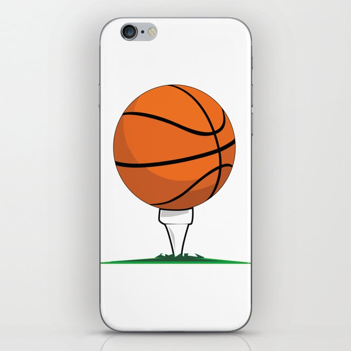 Basketball Tee iPhone Skin