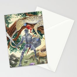King Pellinore and the Questing Beast Stationery Cards